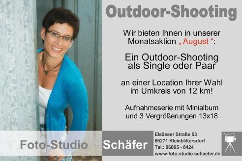 Foto-Studio Schäfer Outdoor-Shooting